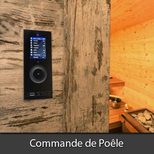 Commande de Poêle Sauna Nord Pas-de-Calais
