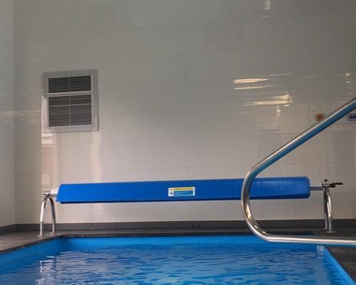 Déshumidificateur piscine dans bâtiment