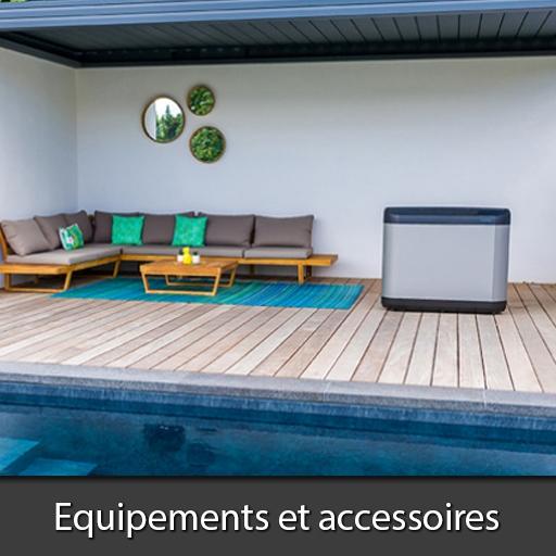 Equipements accessoires piscines Nord Pas-de-Calais