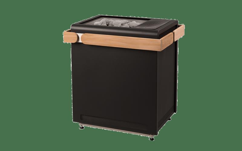 Poêle Sauna chauffage Concept R Black Combi