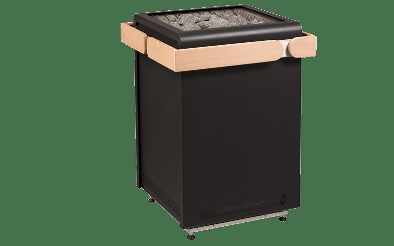 Poêle Sauna chauffage Concept R Black
