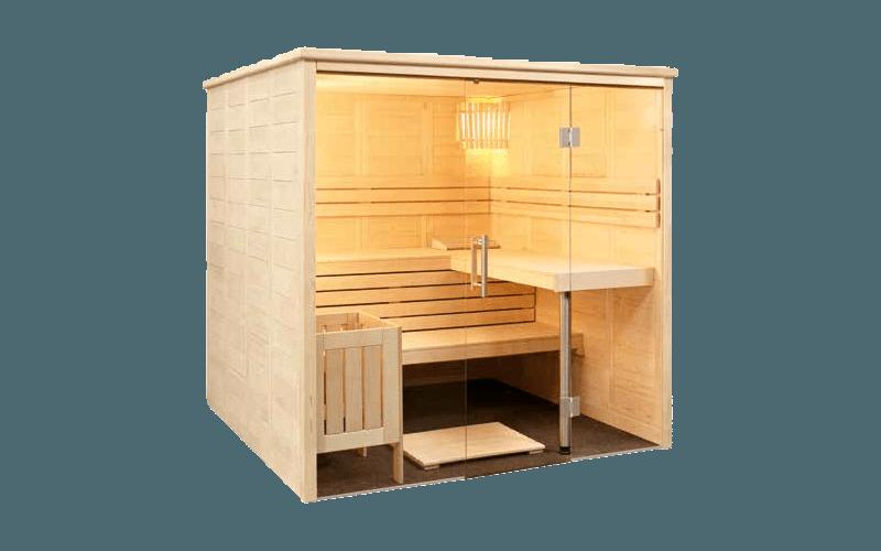 Sauna Alaska View