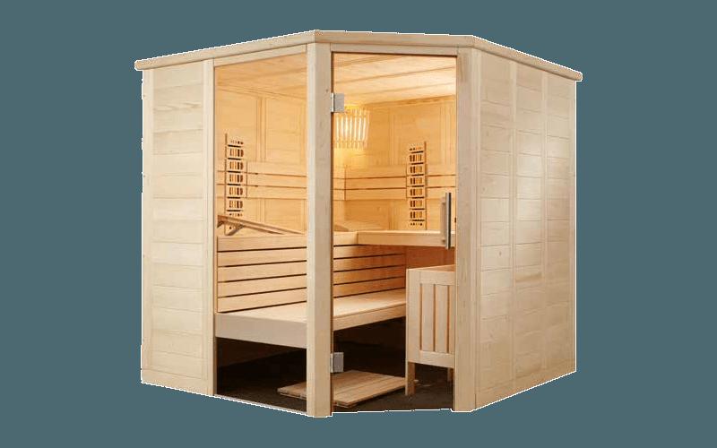 Sauna Infrarouge Alaska Corner Infra +