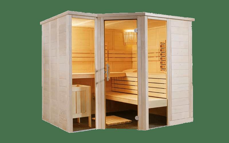Installation sauna Infrarouge Arktis Infra +