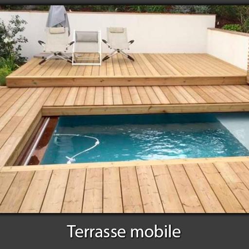 Terrasse mobile piscine et spa Nord Pas-de-Calais