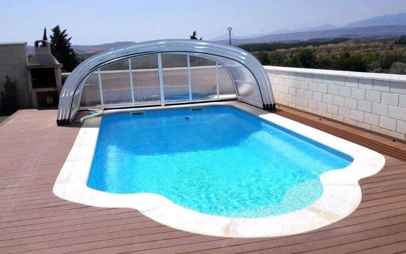 Fabricant d'abri de piscine mi-haut Nord Pas-de-Calais