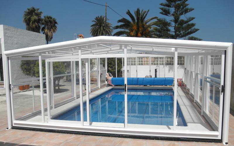 Abri mi-haut medium sécurité piscine
