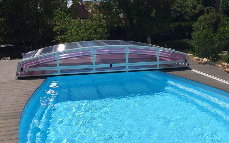 Abri piscine télescopique Hauts-de-France