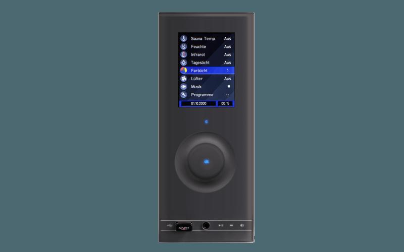 Commande poêle sauna wave com 4 Touch II