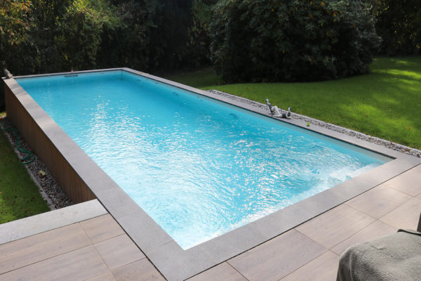 Installation piscine carrelée Nord Pas-de-Calais