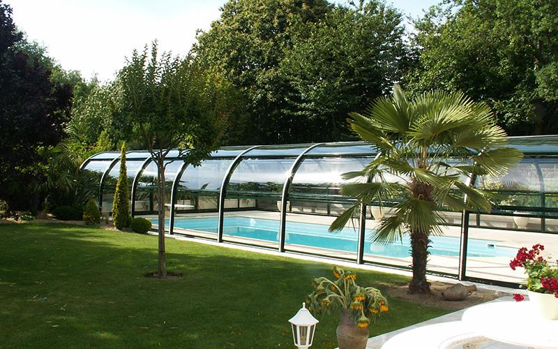 Vente abris de piscine mi-haut Hauts-de-France