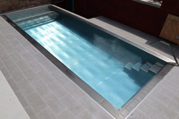 Construction piscine Inox Nord Pas-de-Calais