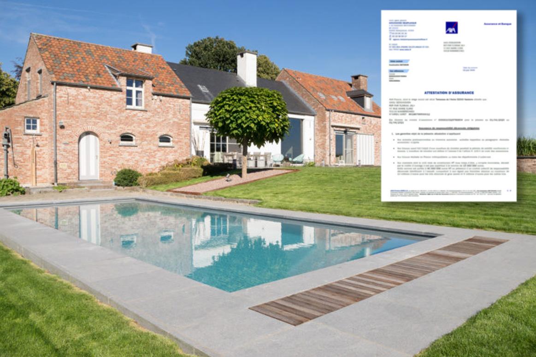 Garantie et assurance décennale piscine